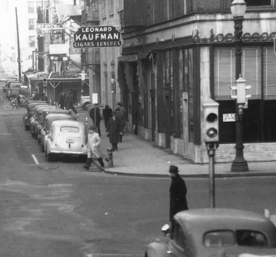 Leonard Kaufman store 1937
