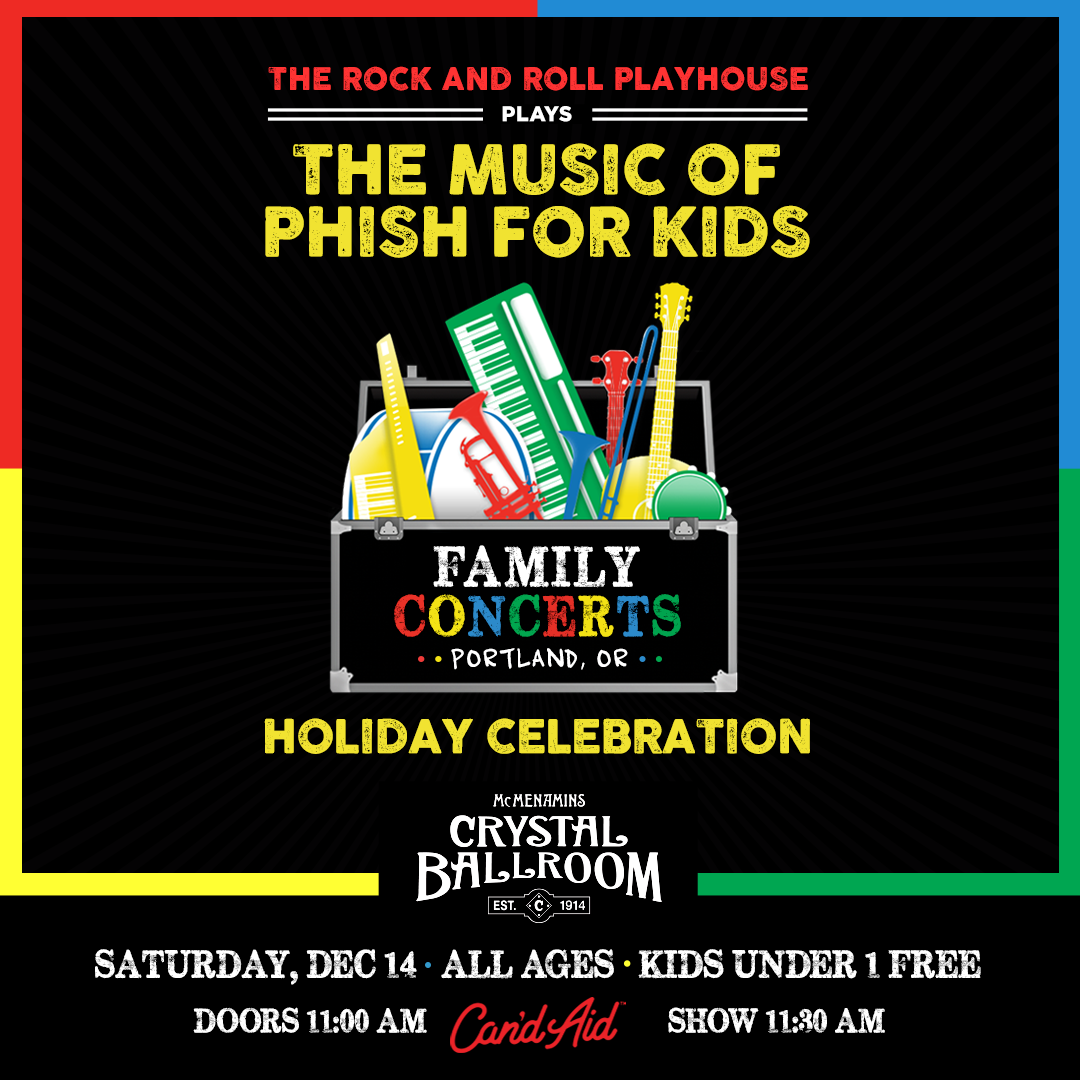 Music of Phish for Kids Holiday Celebration