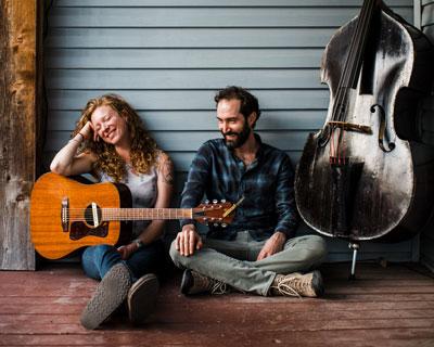 Alicia Viani and Mark Karwan
