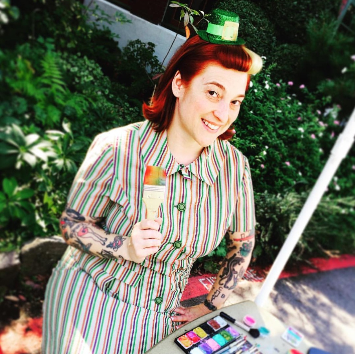 "Amanda ""The Face Painter"" (2 p.m.)"