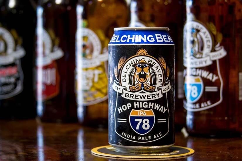 Belching Beaver Beer Tasting