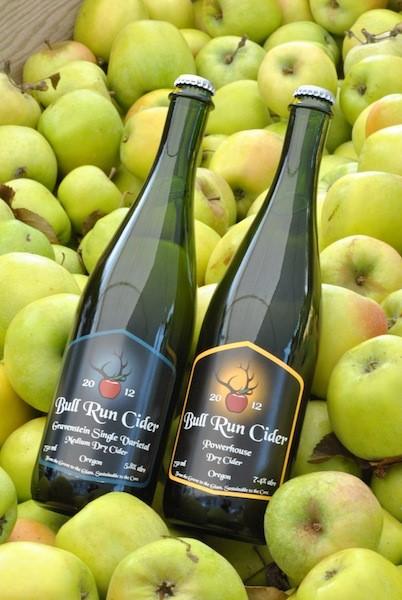 Bull Run Cider Bottle & Can Release