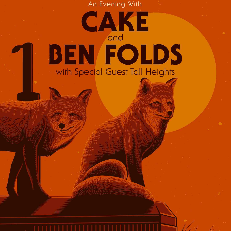 CAKE + Ben Folds