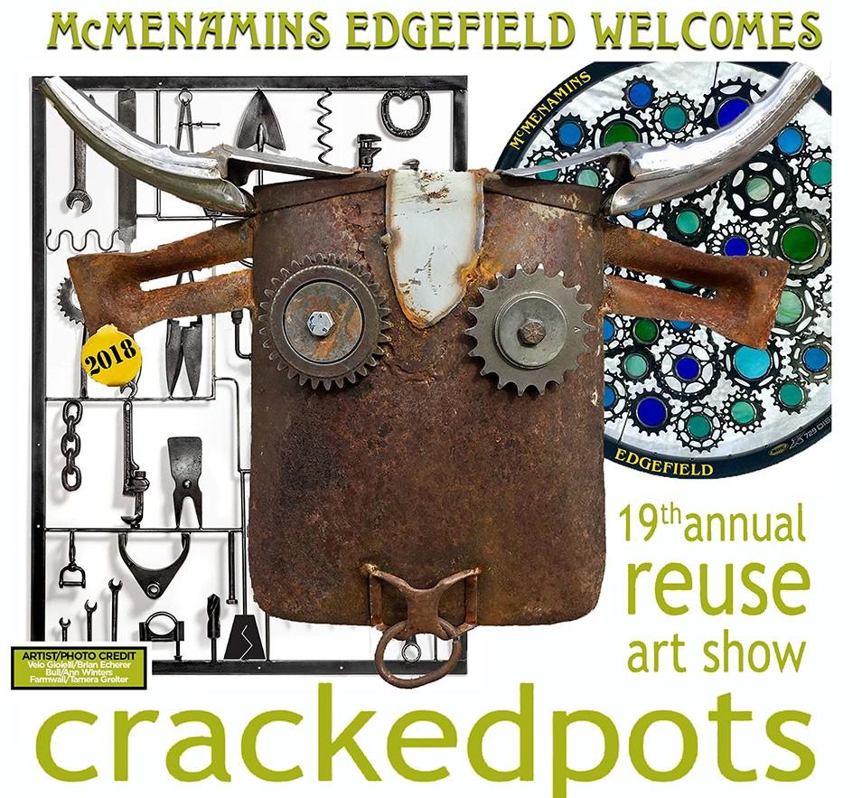 crackedpots art show