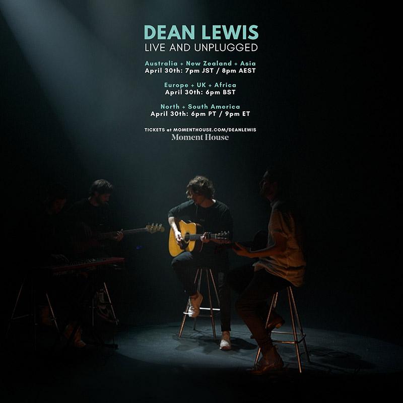 Dean Lewis Live & Unplugged