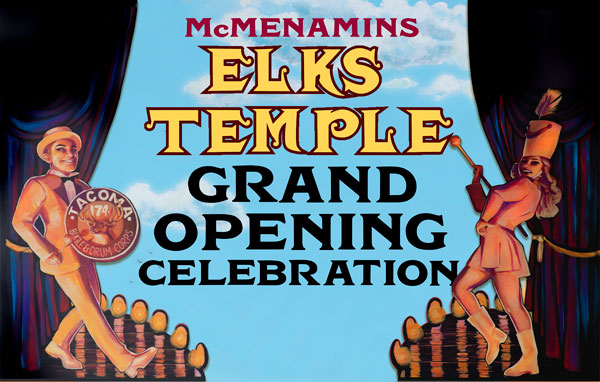 Elks Temple Grand Opening Day