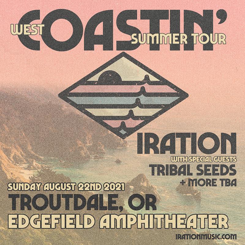 Summer 2021:<br>Iration – Coastin' Summer Tour