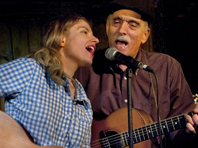Jim Kweskin and Meredith Axelrod