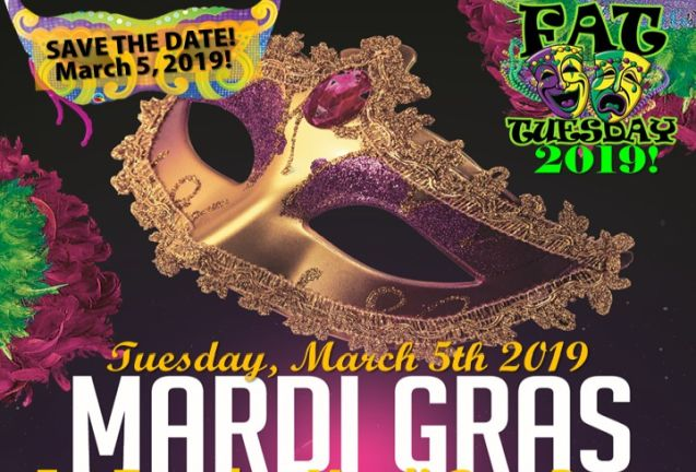2019 Fat Tuesday Mardi Gras Party