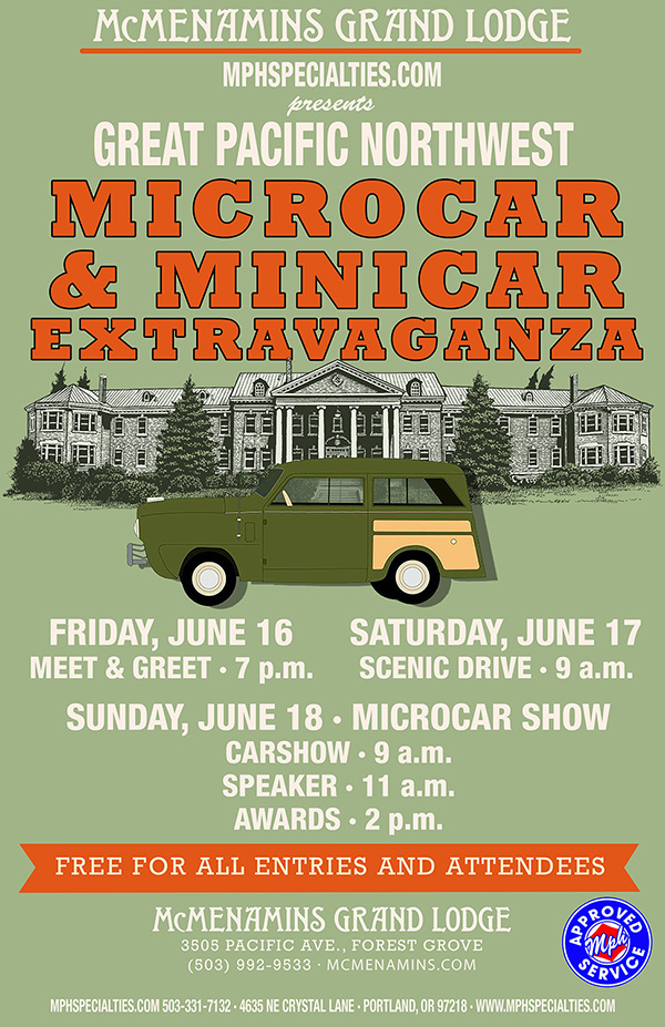 Great Pacific Northwest Microcar & Minicar Extravaganza