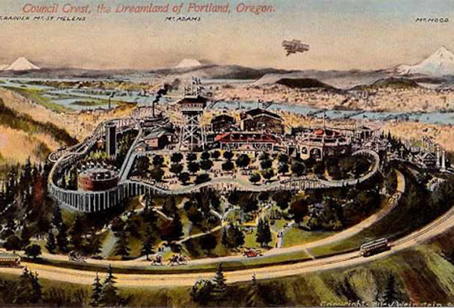History of Oregon Amusement Parks; Come Along for the Ride