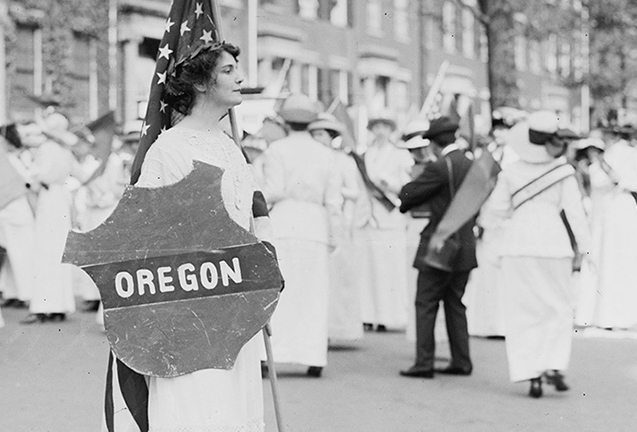 Placing Oregon Suffrage History: On the Page, Online, On the Map