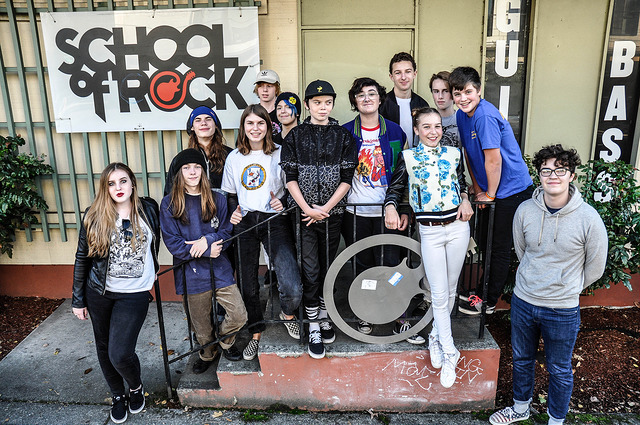 The Portland School of Rock House Band
