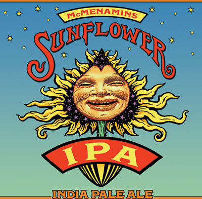 McMenamins Sunflower IPA Can Release