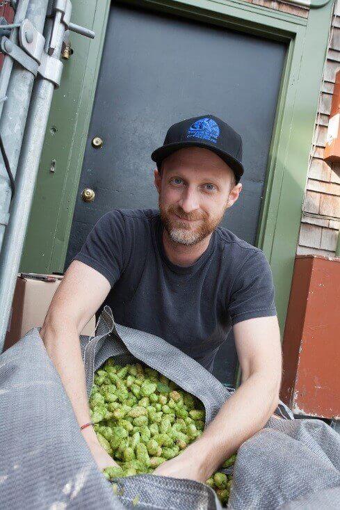 Hillsdale Brewery's Tyler Newton