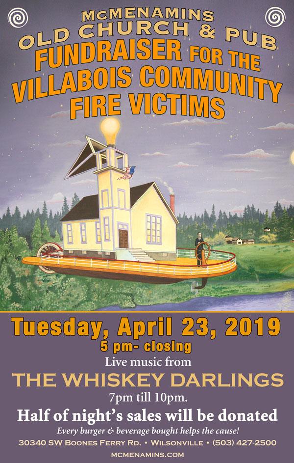 Benefit for The Villabois Community Fire Victims