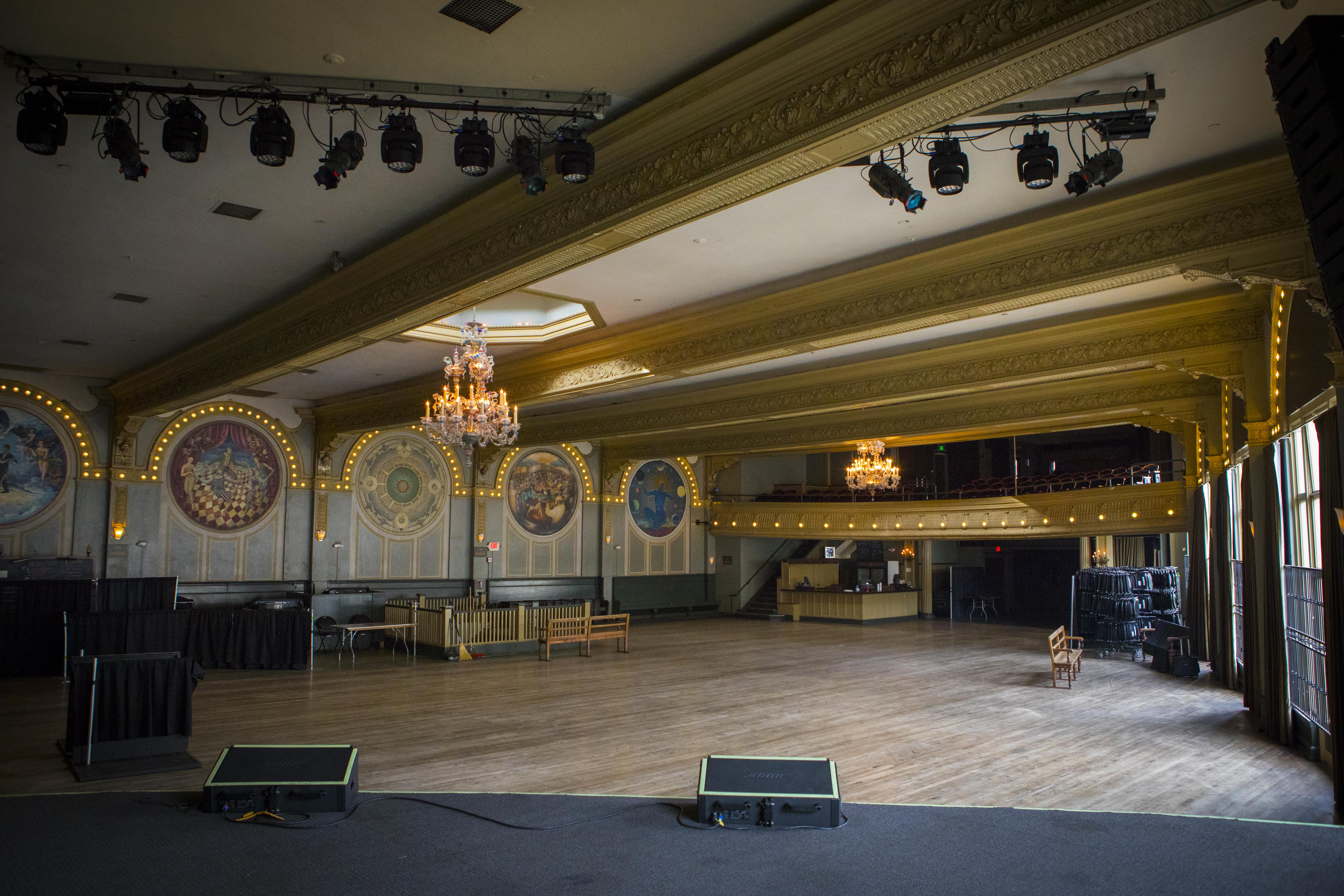 Crystal Ballroom Tour