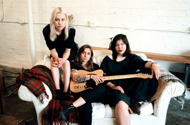 Julien Baker, Phoebe Bridgers, and Lucy Dacus