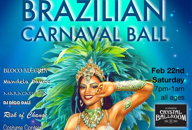 8th Annual Brazilian Carnaval Ball - INFINITE LIGHT!