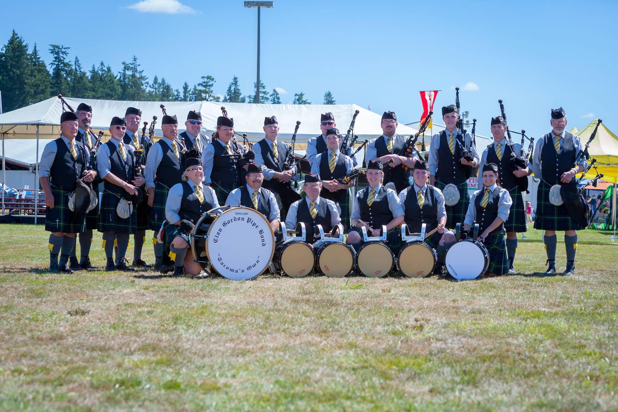 Clan Gordon Pipe Band