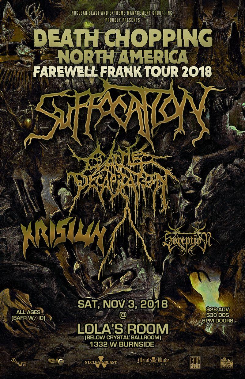 Farewell Frank Tour 2018