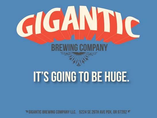 Gigantic Brewing Beer Tasting