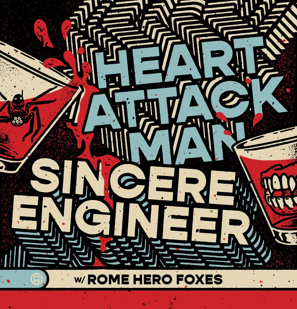 HEART ATTACK MAN / SINCERE ENGINEER