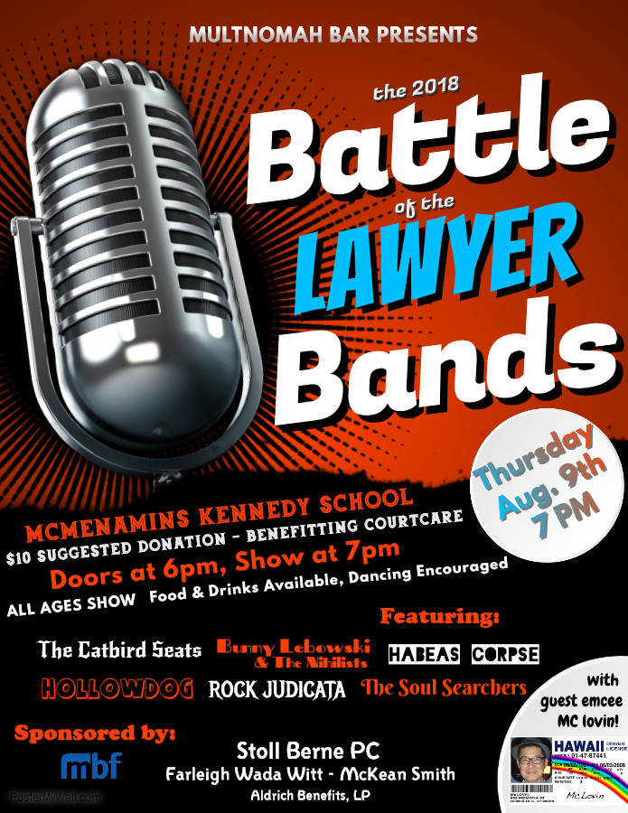 Battle of the Lawyer Bands
