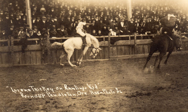 """Let' er Fly"": The Story of World Champion Cowgirl Lorena Trickey"