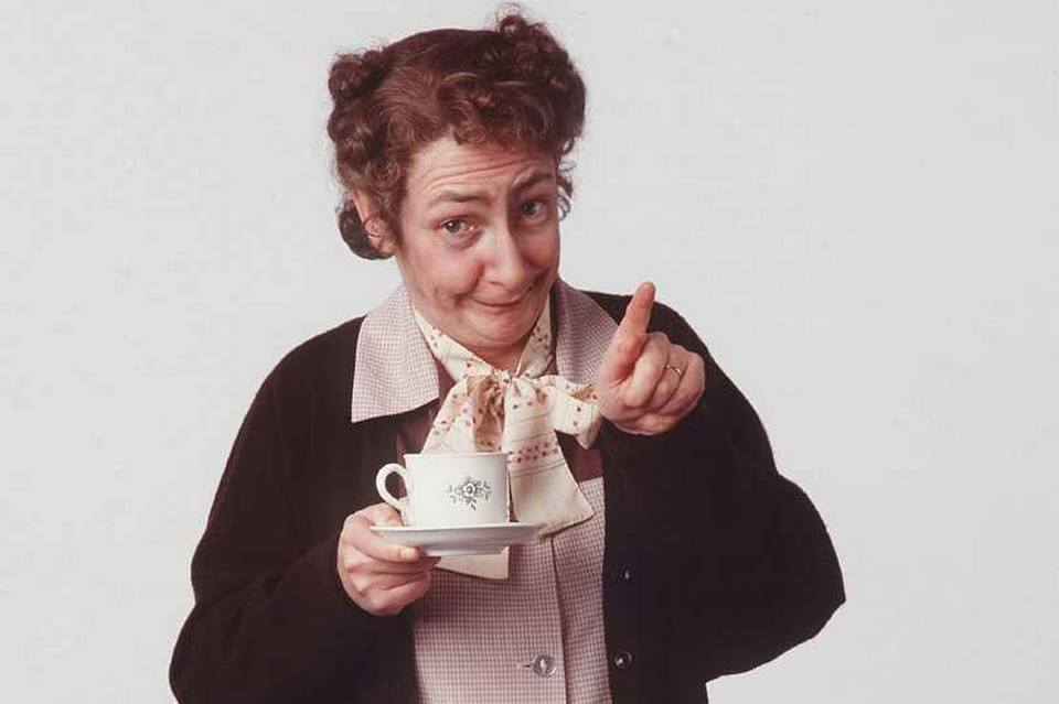 Mrs. Doyle and the Teapots