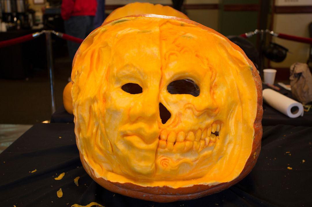 Old Saint Francis-Pumpkin Carving