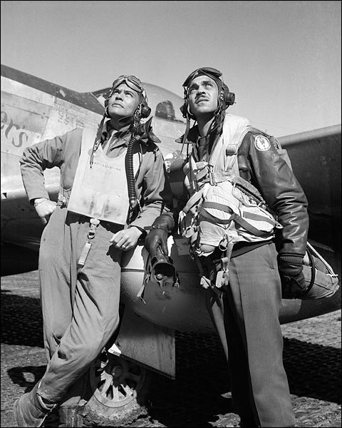 Red Tail Angels: Black Fighter Pilots in WW II