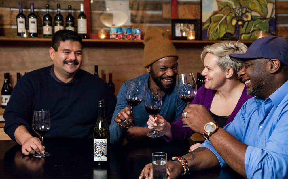 Red, White & Black:  The Oregon Wine Story