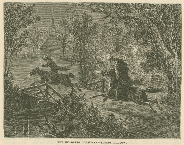 The Legend of Sleepy Hollow with Alastair Jaques, a fundraiser for the Deschutes Historical Museum.