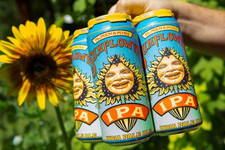 Sunflower IPA Can Release Party