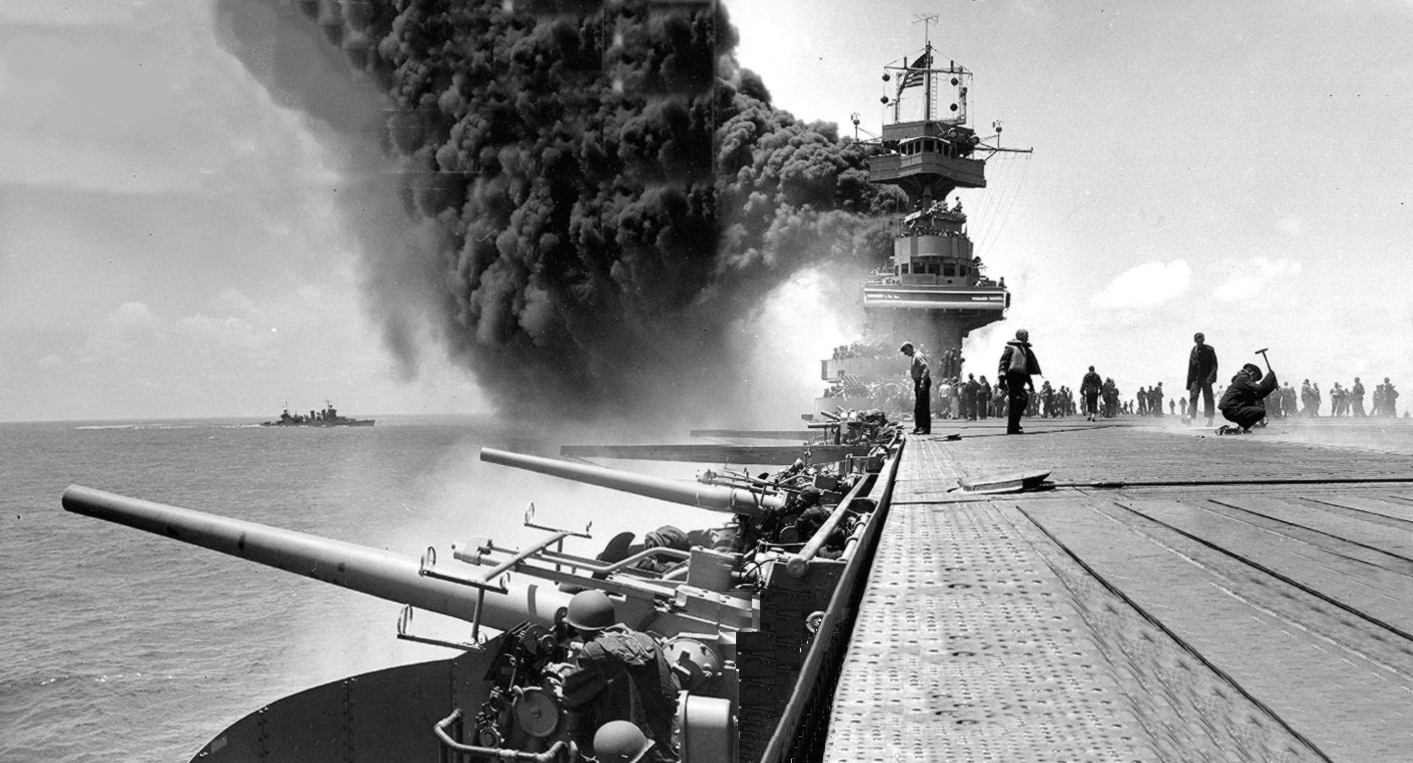 Time, Space, and Force:  The Economics of the Battle of Midway