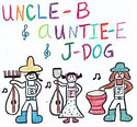Uncle B & Auntie E & J-DOG