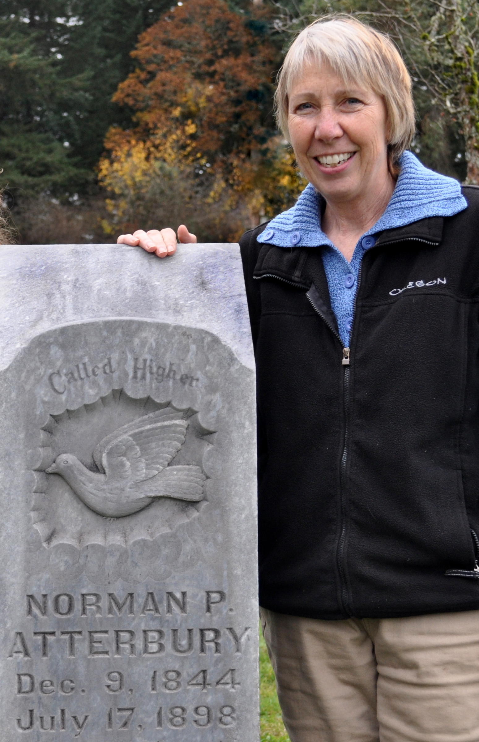 WRITTEN IN STONE . . . OR NOT:  The stories of Wilsonville's unmarked graves