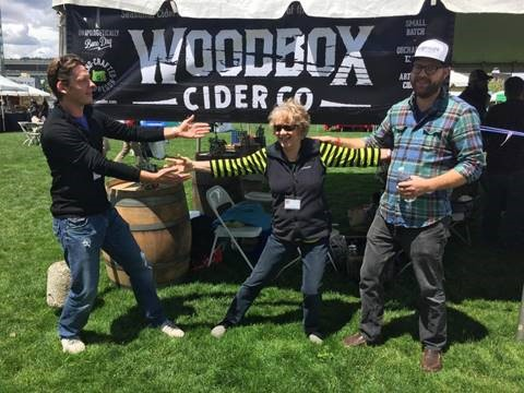 Woodbox Cider Tasting