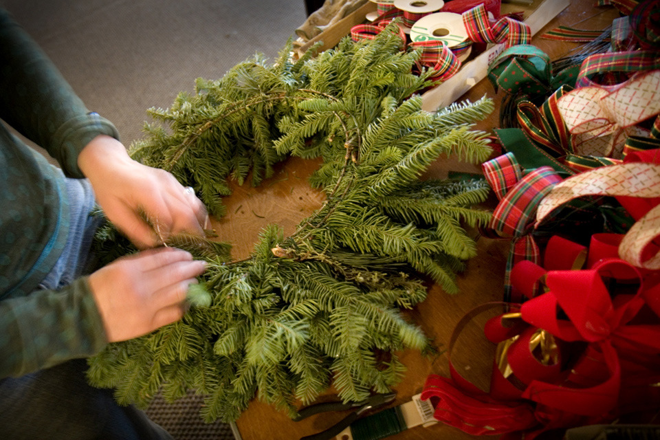 Wreath-Making Class