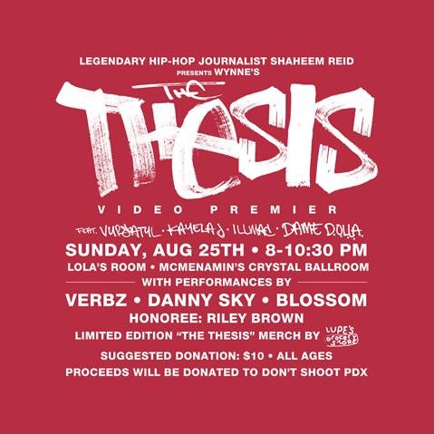 """Wynne's """"The Thesis"""" Video Premier"""