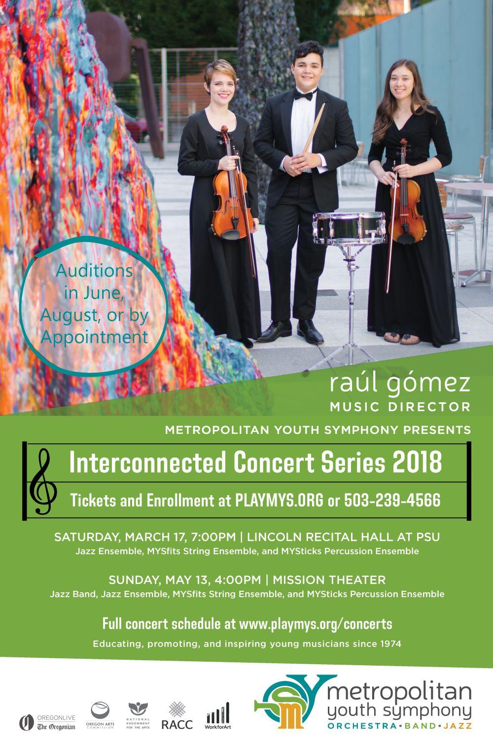 Interconnected Concert Series 2018